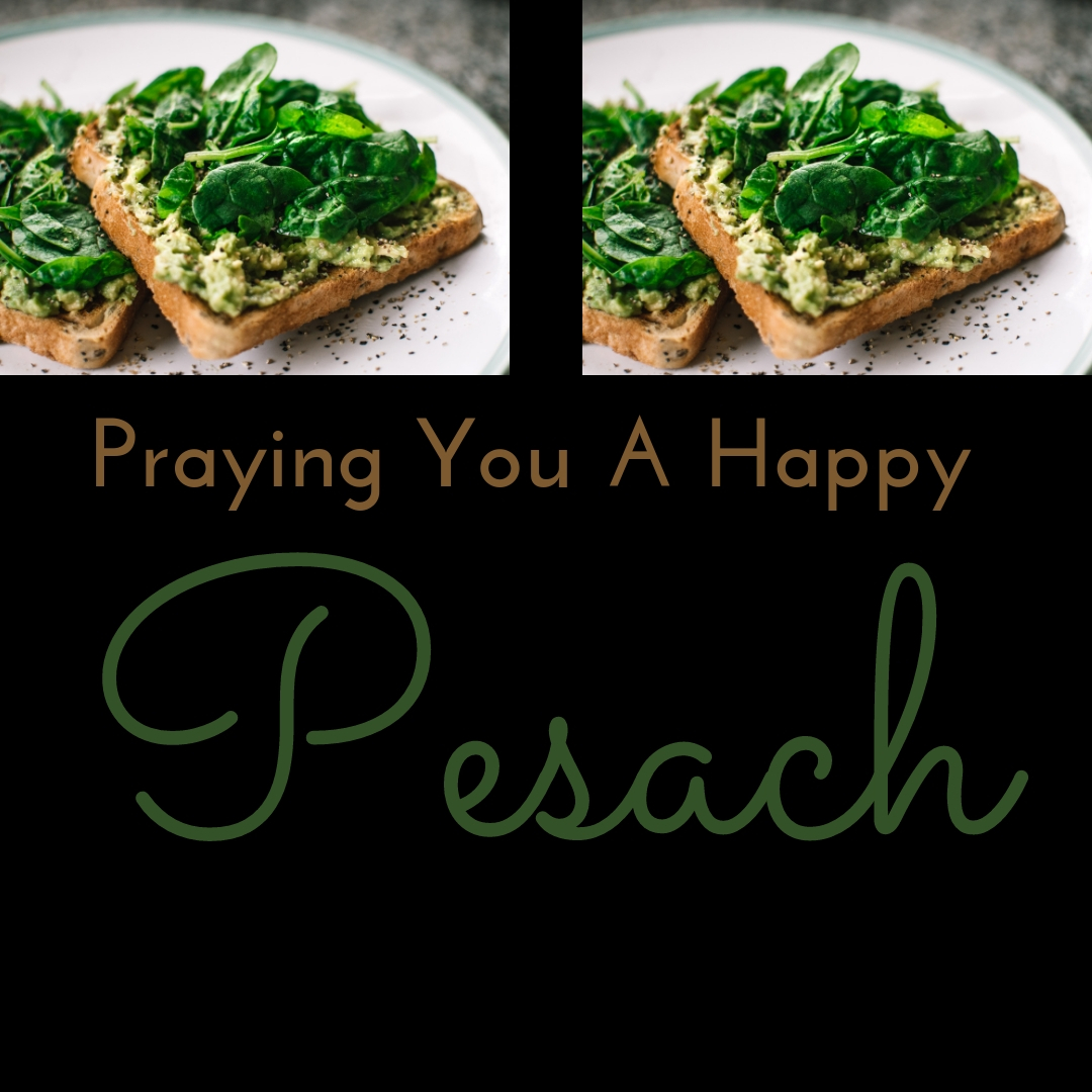 Praying You A Happy, Blessed Passover And Pesach Greeting Holiday Social Media Square Image Card 14