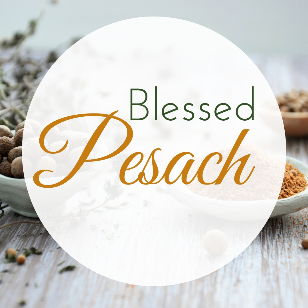 Praying You A Happy, Blessed Passover And Pesach Greeting Holiday Social Media Square Image Card 6