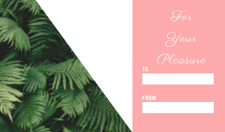 20 Gift, Present Tags For Happy Holidays With Love Green Pink Leafy