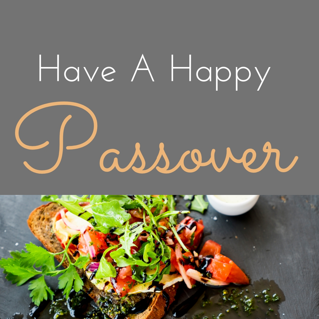Praying You A Happy, Blessed Passover And Pesach Greeting Holiday Social Media Square Image Card 19