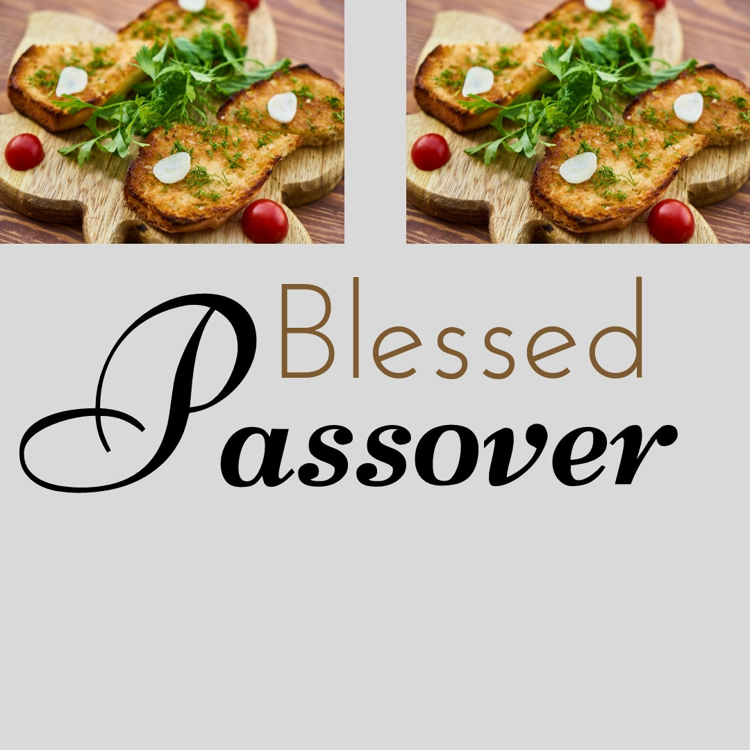 Praying You A Happy, Blessed Passover And Pesach Greeting Holiday Social Media Square Image Card 9