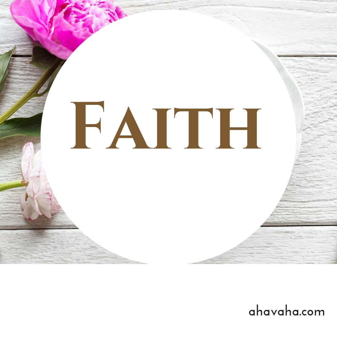 Happy Joyful Blessed Faith Multicolored Greeting Card Square Image 5