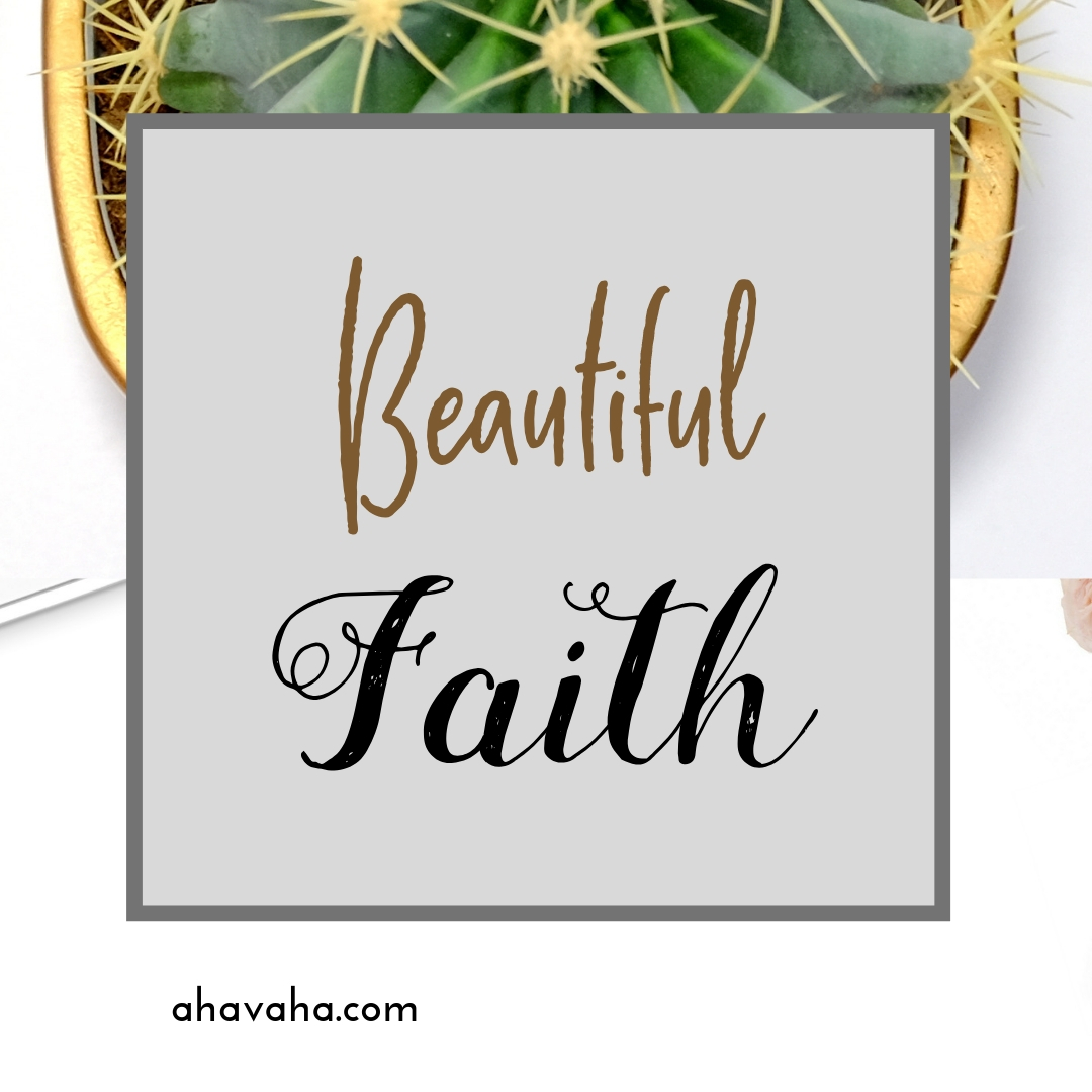 Happy Joyful Blessed Faith Multicolored Greeting Card Square Image 12