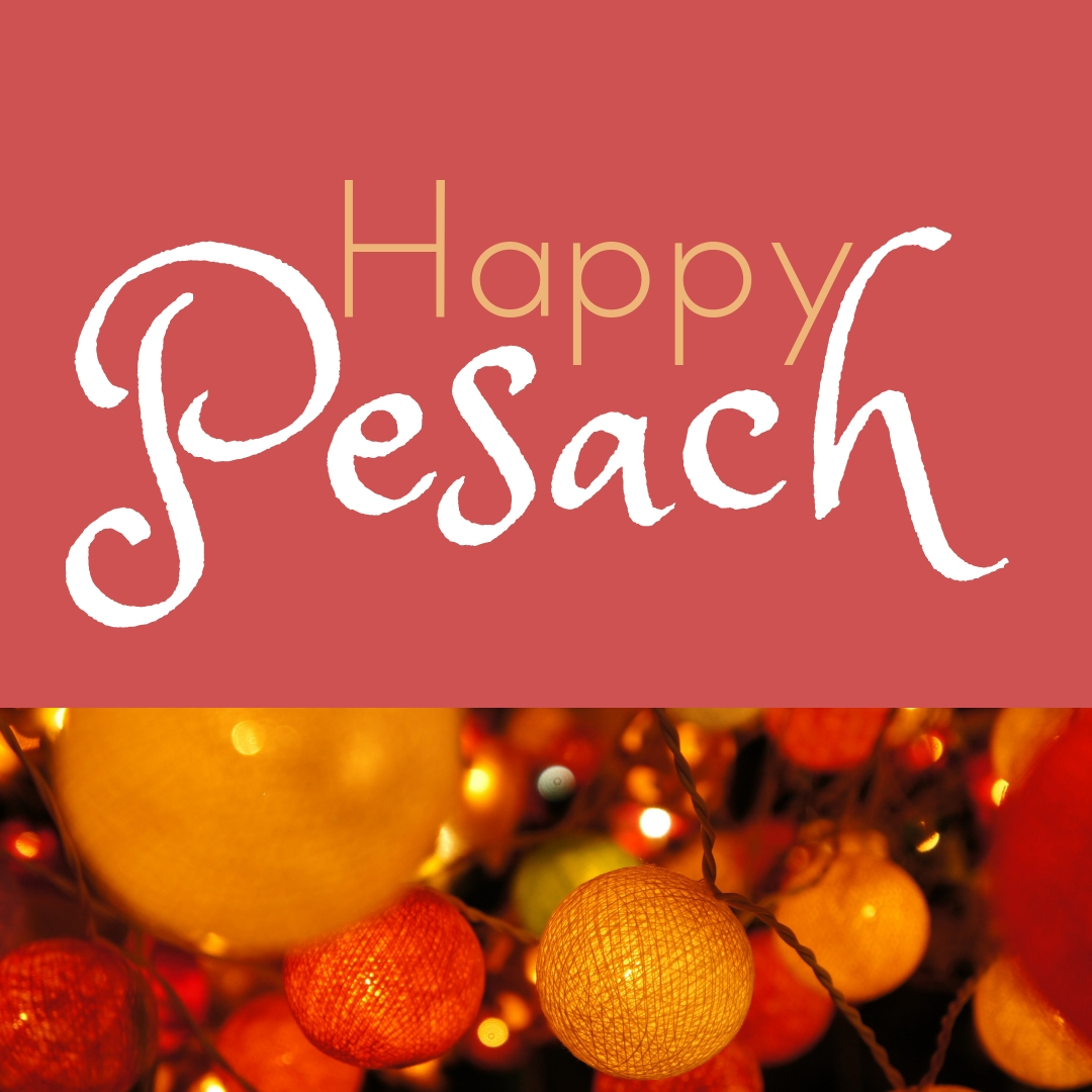Praying You A Happy, Blessed Passover And Pesach Greeting Holiday Social Media Square Image Card 21