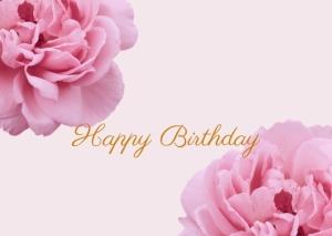 Happy Birthday Greeting Post Card Printable 7
