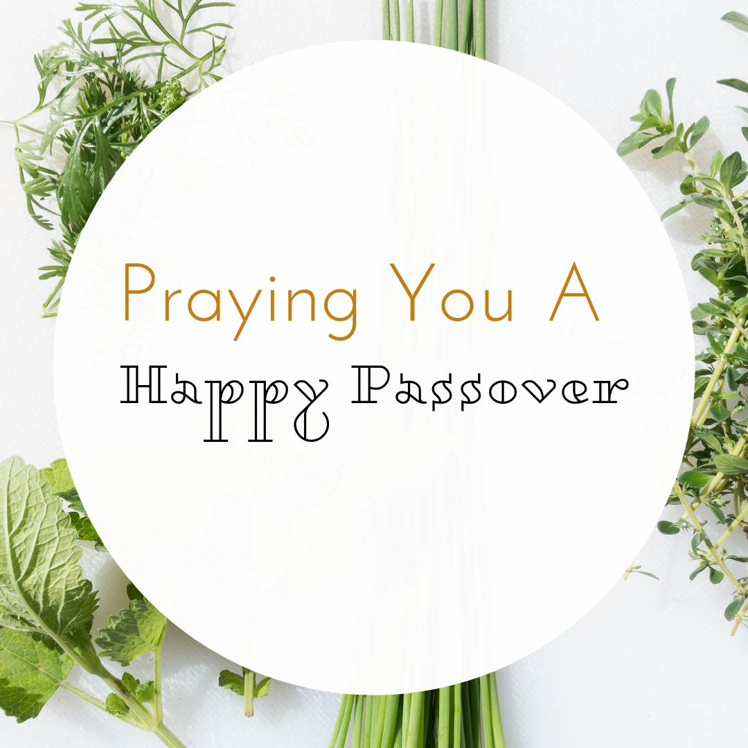 Praying You A Happy, Blessed Passover And Pesach Greeting Holiday Social Media Square Image Card 2