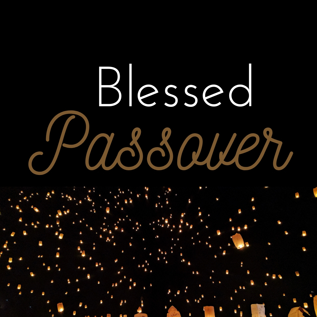 Praying You A Happy, Blessed Passover And Pesach Greeting Holiday Social Media Square Image Card 17