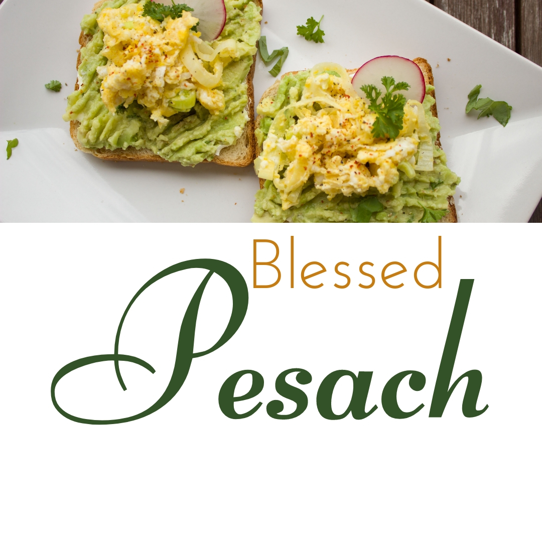 Praying You A Happy, Blessed Passover And Pesach Greeting Holiday Social Media Square Image Card 28