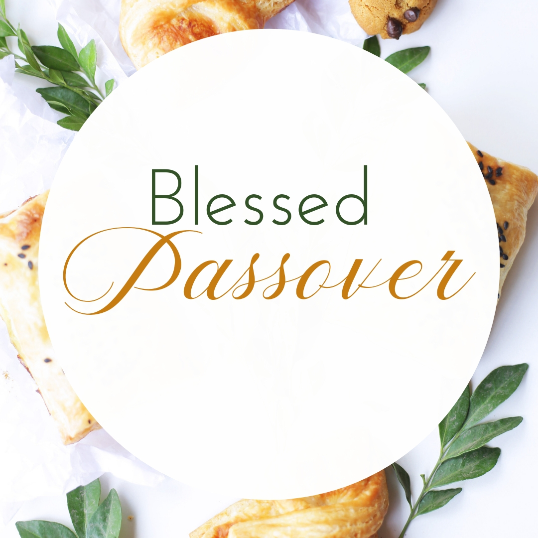 Praying You A Happy, Blessed Passover And Pesach Greeting Holiday Social Media Square Image Card 4