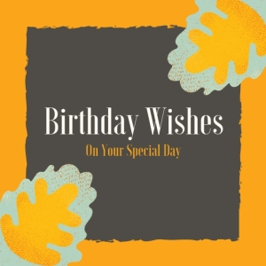 2 Birthday Wishes On Your Special Day Happy Birthday Printable Square Greeting Postcard