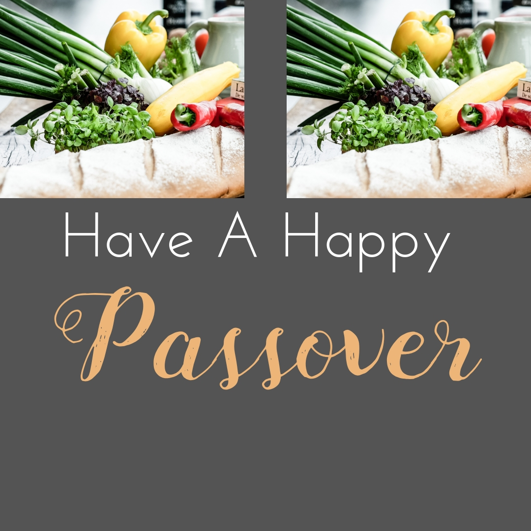Praying You A Happy, Blessed Passover And Pesach Greeting Holiday Social Media Square Image Card 11
