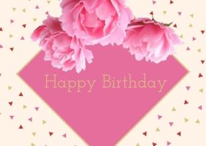 Happy Birthday Greeting Post Card Printable 9