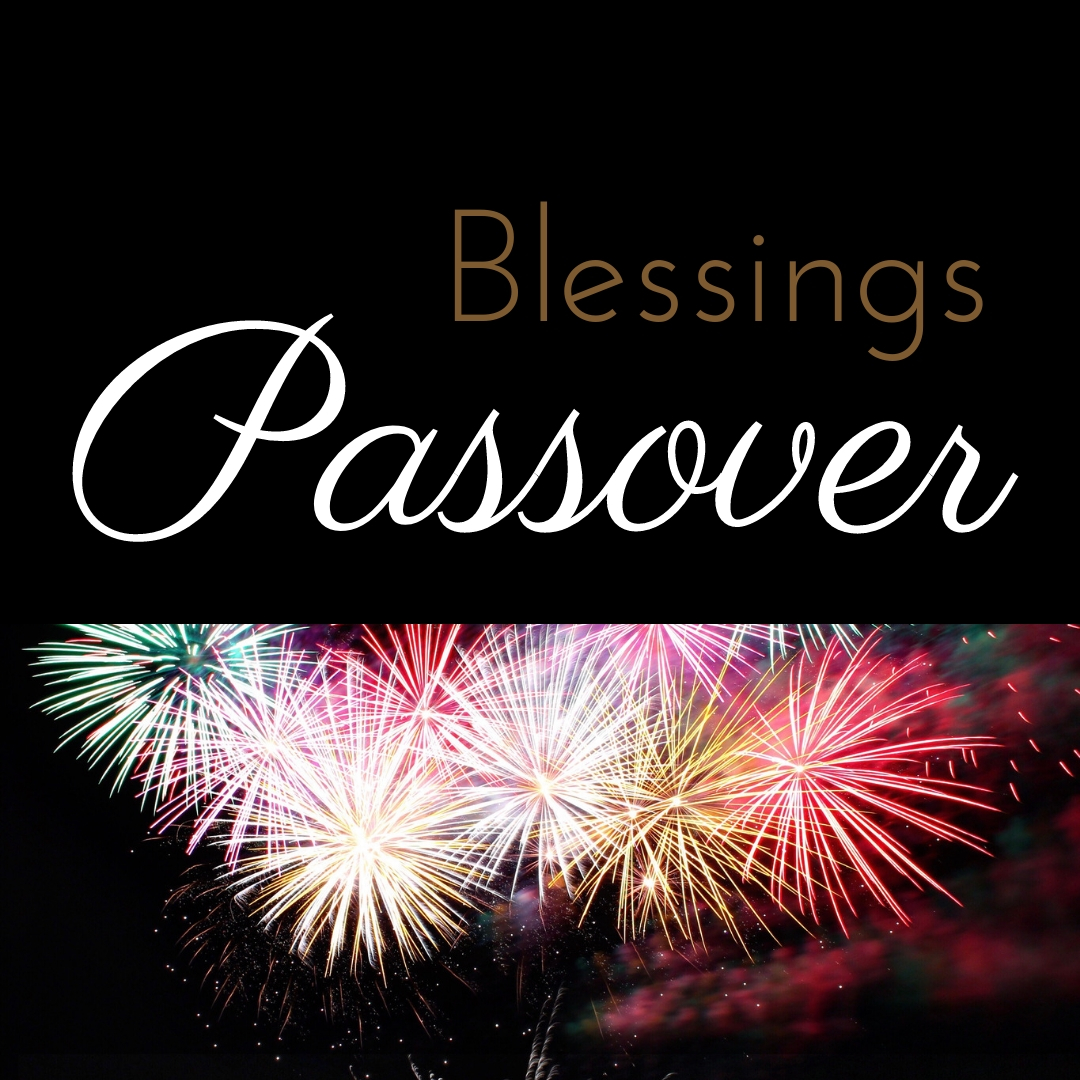 Praying You A Happy, Blessed Passover And Pesach Greeting Holiday Social Media Square Image Card 20