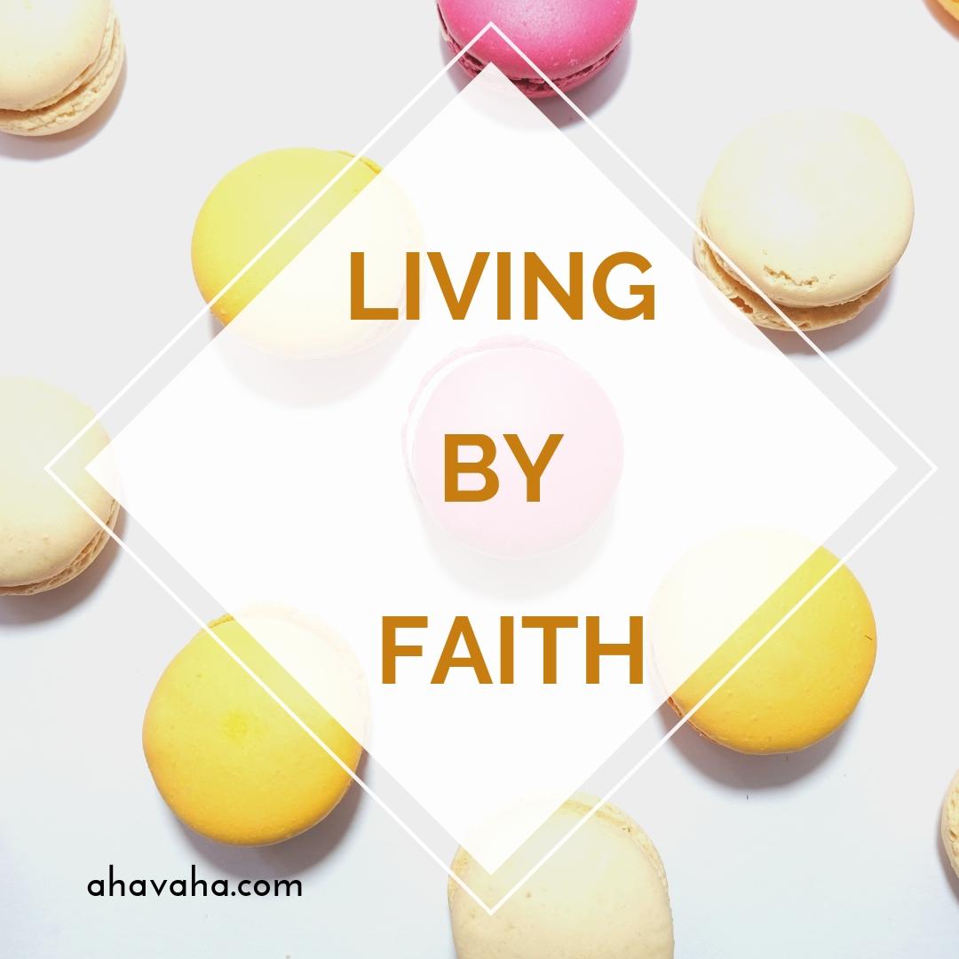 Happy Joyful Blessed Faith Multicolored Greeting Card Square Image 9
