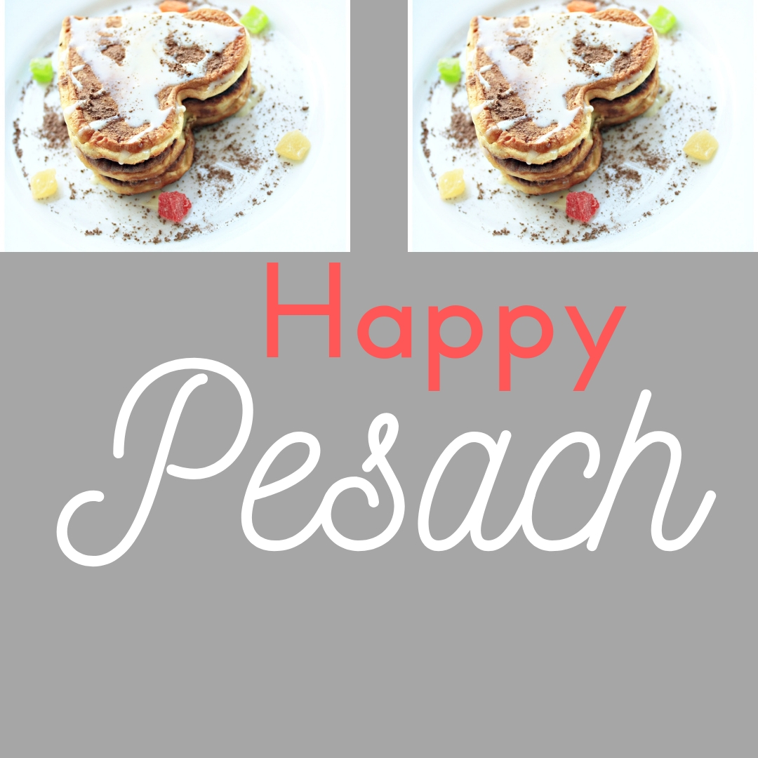 Praying You A Happy, Blessed Passover And Pesach Greeting Holiday Social Media Square Image Card 13