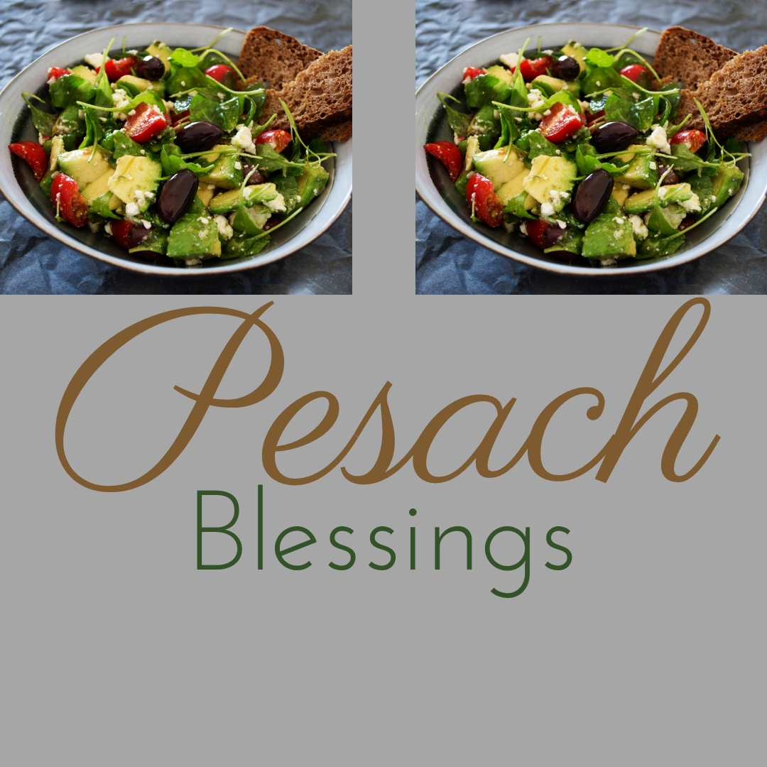 Praying You A Happy, Blessed Passover And Pesach Greeting Holiday Social Media Square Image Card 16