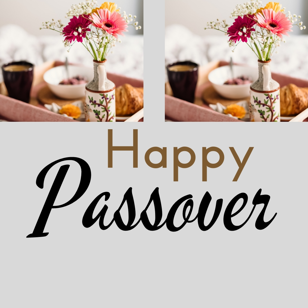 Praying You A Happy, Blessed Passover And Pesach Greeting Holiday Social Media Square Image Card 10