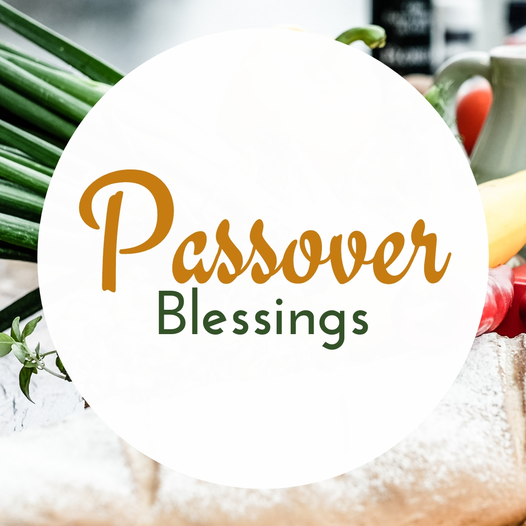 Praying You A Happy, Blessed Passover And Pesach Greeting Holiday Social Media Square Image Card 5