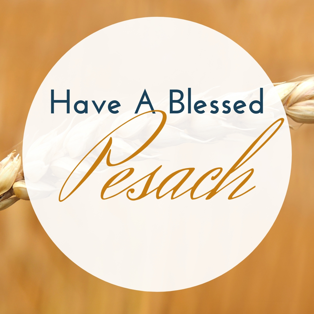 Praying You A Happy, Blessed Passover And Pesach Greeting Holiday Social Media Square Image Card 7