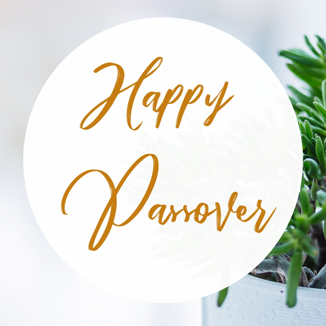 Praying You A Happy, Blessed Passover And Pesach Greeting Holiday Social Media Square Image Card 1
